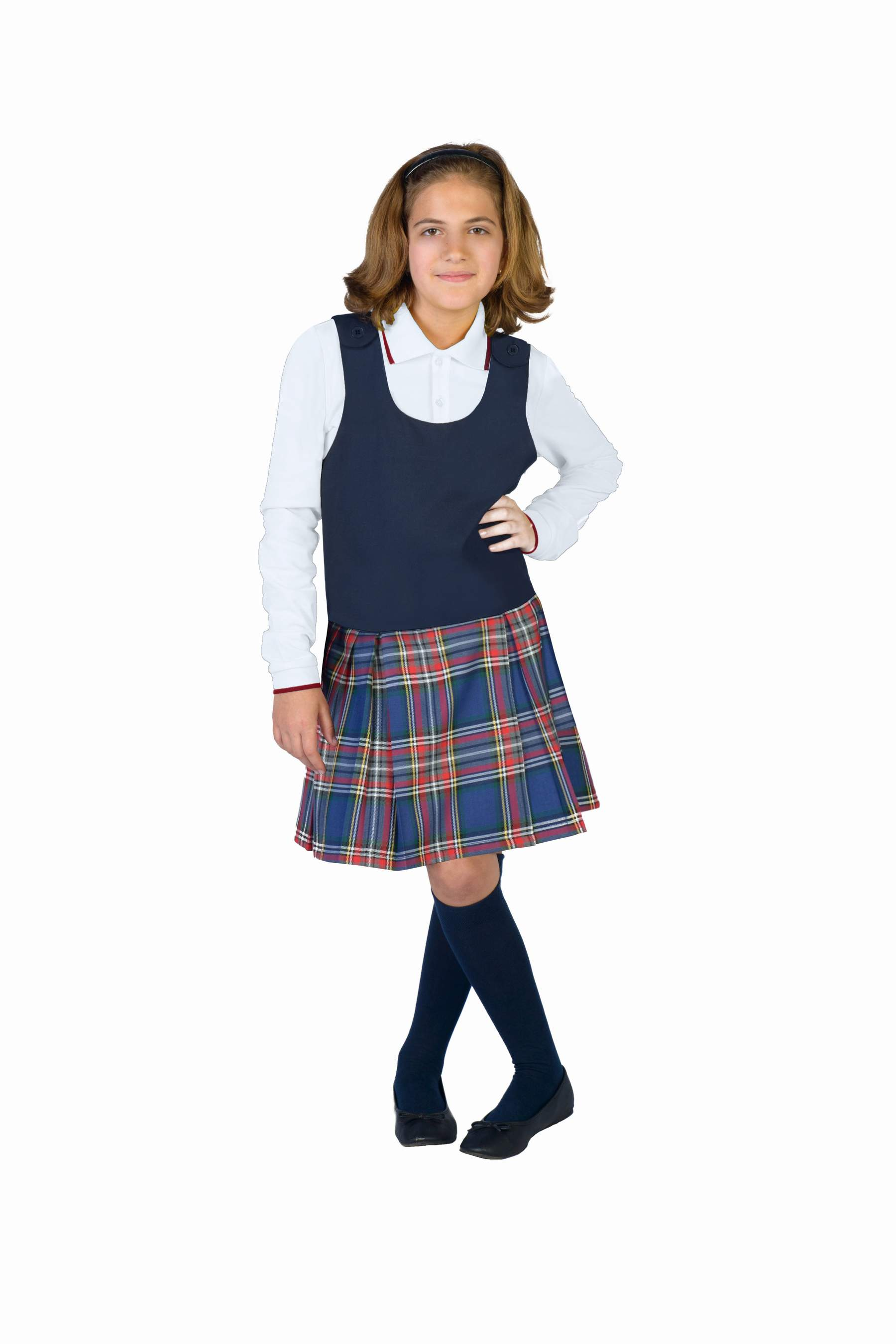 Pinafore Girls Dress